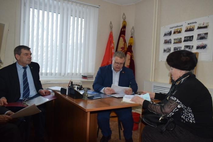 Депутат Мособлдумы Александр Наумов провел прием граждан в г.о. Домодедово