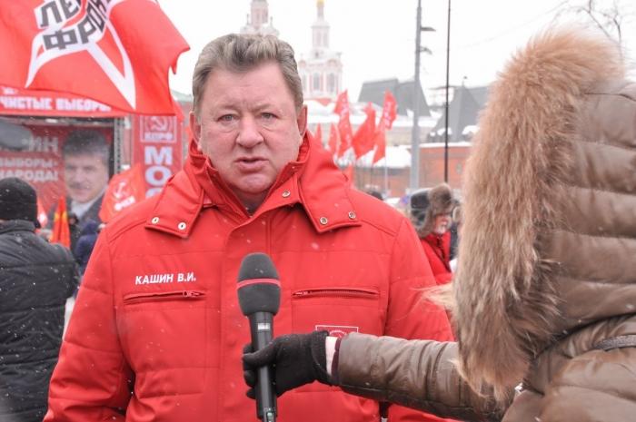 Выступление Владимира Кашина на митинге «За честные и чистые выборы»