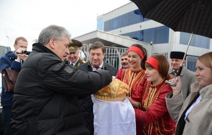 П.Н. Грудинин прибыл с рабочим визитом в Ставропольский край