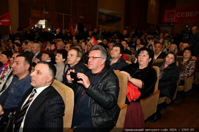 П.Н. Грудинин встретился с делегациями субъектов Северного Кавказа