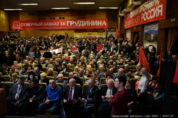 Завершился визит П.Н. Грудинина в Ставропольский край