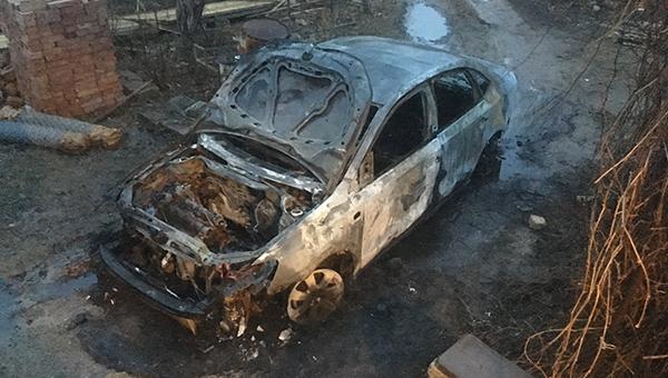 В городском округе Можайск Московской области сожгли автомобиль кандидата в депутаты от КПРФ