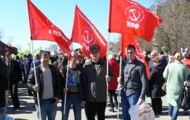 14 апреля в Серпуховском районе состоялся экологический митинг «Стоп «Лесная»