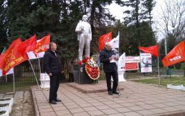 22 апреля в Солнечногорске люди вышли на митинг