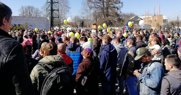 14 апреля в Подмосковье прошли массовые митинги против мусорных свалок