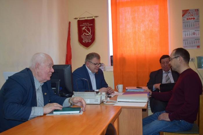 Депутат Мособлдумы Александр Наумов провел прием граждан в городских округах Озеры и Кашира