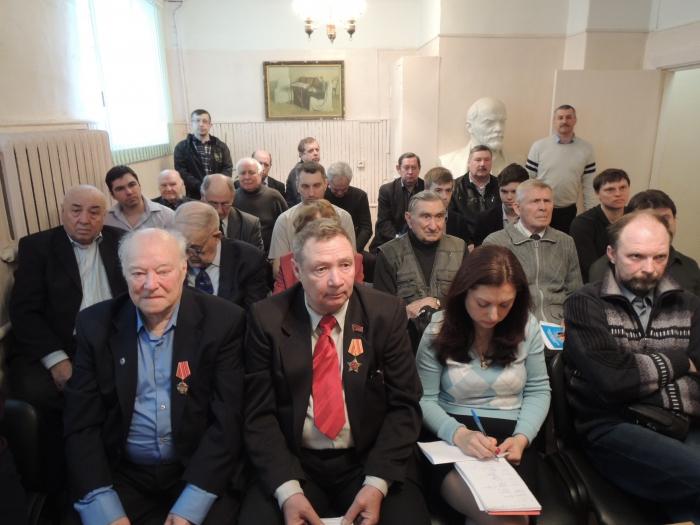 Коммунисты Коломны подводят промежуточные итоги. Избрано новое руководство партийного отделения
