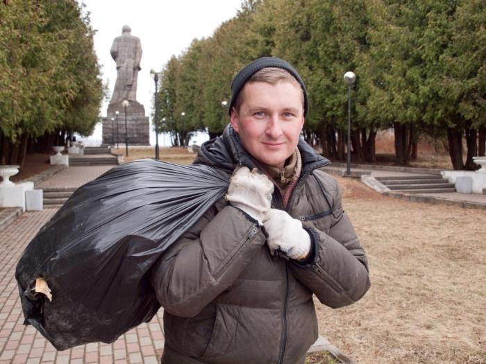 22 апреля коммунисты Дубны провели воскресник