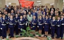 В Мособлдуме прошло торжественное мероприятие, посвящённое 73-й годовщине Победы в Великой Отечественной войне