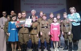 Пионеры Подольска победили в конкурсе инсценированной песни «Во славу Отечества!»