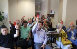 Отчёт щёлковских коммунистов