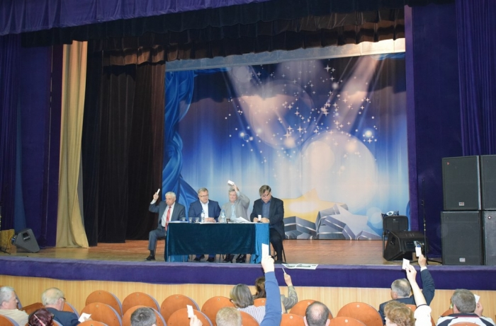 Состоялись отчётно-выборные Конференции Раменского и Серпуховского РК КПРФ