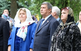 Константин Черемисов поздравил лотошинцев с Днём района