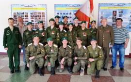 17 июня 2018 года воспитанники военно-патриотического клуба «Воин» побывали в воинской части Космических войск
