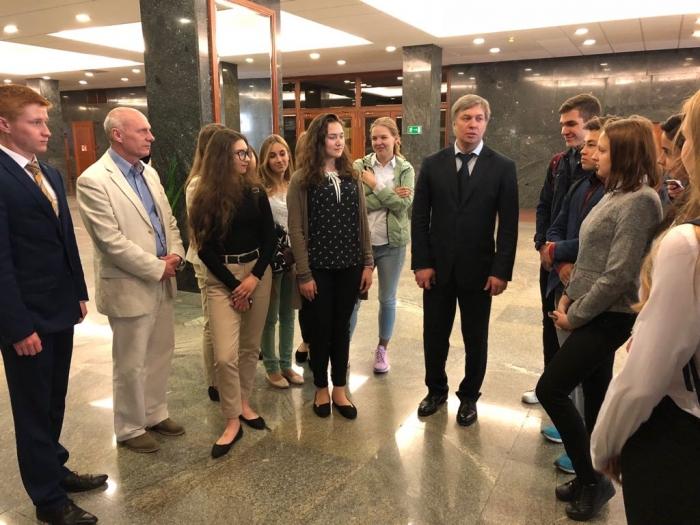 Учащиеся 10 класса школы №82 г.о. Черноголовка посетили Государственную Думу
