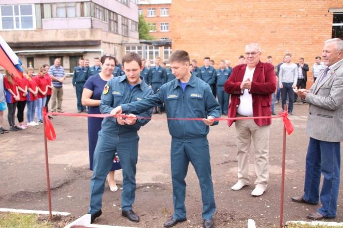 В Можайске открыли тренажёрный корпус