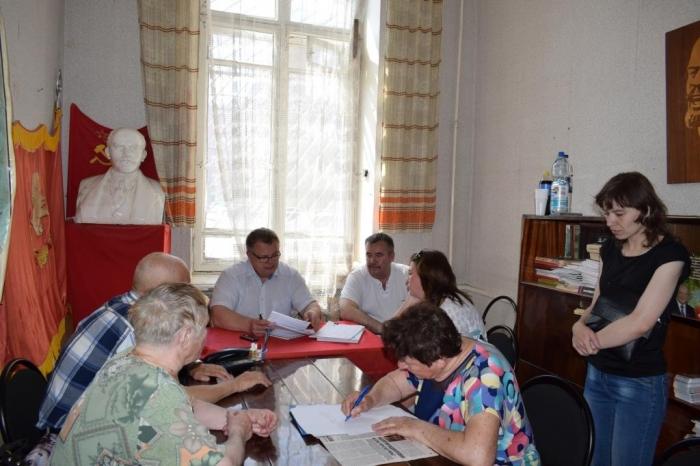 Прошла встреча с жителями г.о. Ступино
