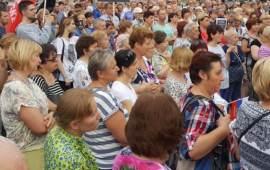 Митинги протеста против пенсионной реформы