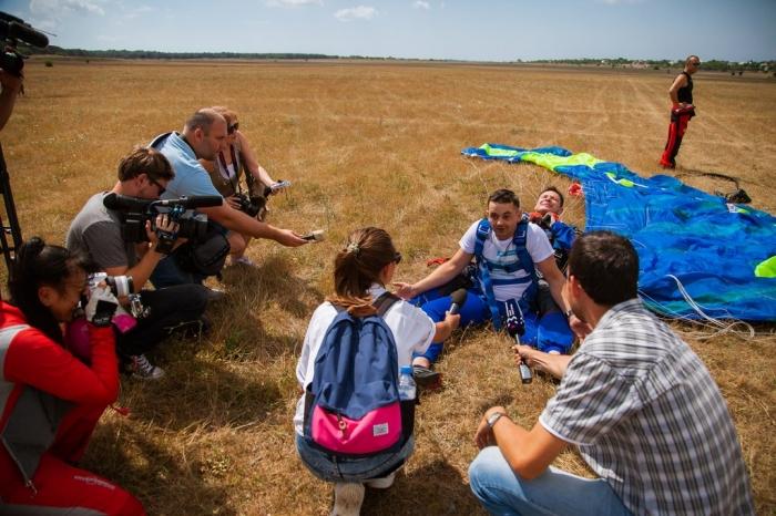 При поддержке Константина Черемисова прошла благотворительная акция «Мне бы в небо»