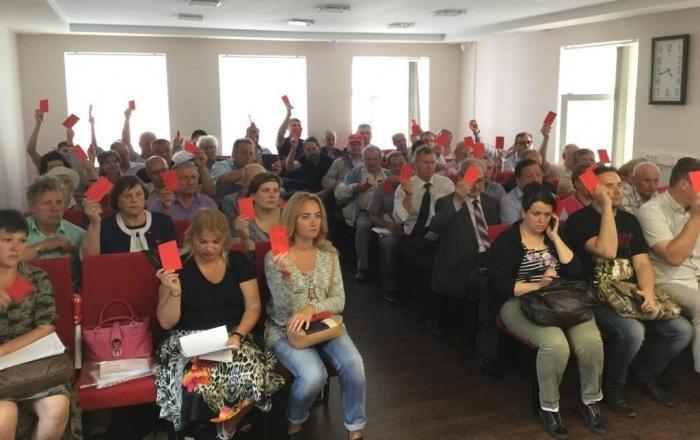 Состоялась Конференция МК КПРФ по выдвижению кандидатов в депутаты Совета депутатов