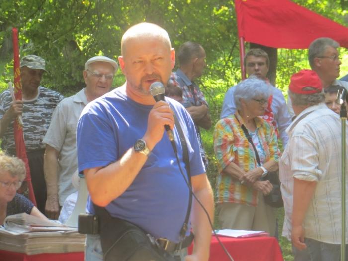Ружане против повышения пенсионного возраста!