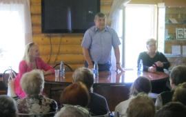 Прошла встреча с кандидатом в Губернаторы Подмосковья