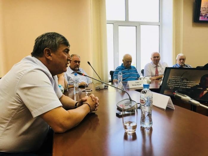 Кандидат в Губернаторы Подмосковья Константин Черемисов встретился с жителями Королева