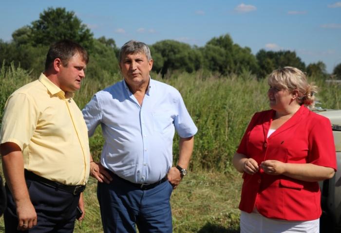Константин Черемисов совершил рабочую поездку по Лотошинскому району