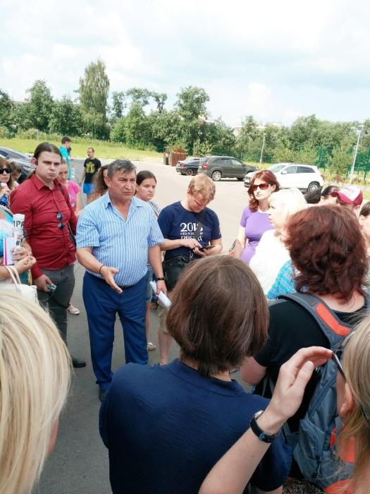 Прошла встреча кандидата в Губернаторы Подмосковья  К.Н. Черемисова в Нахабино