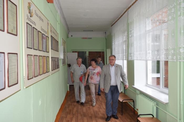 Депутат Мособлдумы А.А. Наумов посетил Серпуховский район