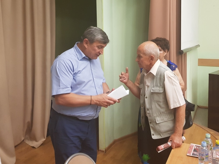 Кандидат на пост губернатора от КПРФ посетил городской округ Домодедово