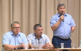 Кандидат на должность губернатора Подмосковья от КПРФ посетил Домодедово