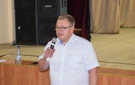Секретарь МК КПРФ, депутат Мособлдумы Александр Наумов посетил с рабочим визитом г.о. Серебряные Пруды