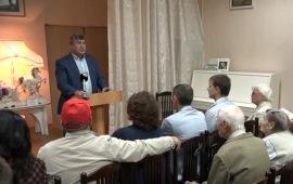 Кандидат на пост губернатора Подмосковья от КПРФ встретился с избирателями в Пущине
