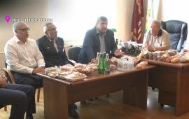 Кандидат в губернаторы МО от КПРФ встретился с работниками Ивантеевского хлебокомбината