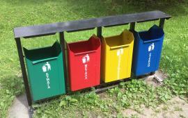 Раздельный сбор мусора в Подмосковье