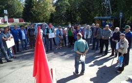 Митинг в Можайске