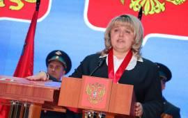 Екатерина Долгасова – представитель КПРФ – вновь избрана Главой Лотошинского муниципального района