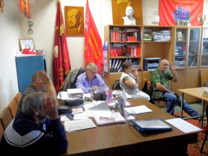 Рузские коммунисты подвели итоги выборов