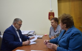 Депутат-коммунист Александр Наумов провёл приём граждан в г.о. Подольск