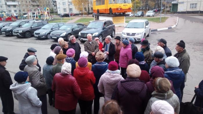 В Ликино-Дулево состоялось заседание Совета депутатов