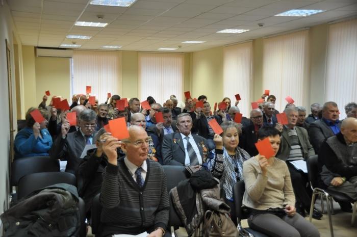 Состоялся пятый этап 47-й (внеочередной) отчётной Конференции МК КПРФ