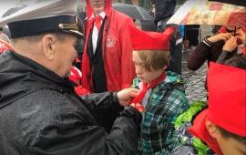Солнечногорские орлята на Красной площади. Москва. 20 мая 2018 год