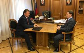Состоялось рабочее совещание А.В. Гордеева и В.И. Кашина
