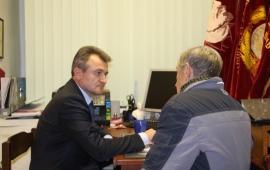 Около 50 приемов населения проведено Василием Мельниковым в Пушкино с начала года