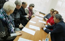 Состоялось расширенное заседание Пленума Лотошинского РК КПРФ