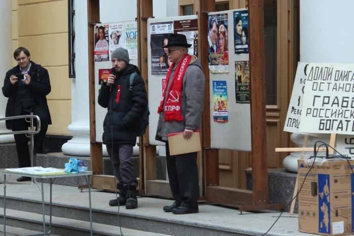 Празднование 101-летия Великого Октября в г. Дубне
