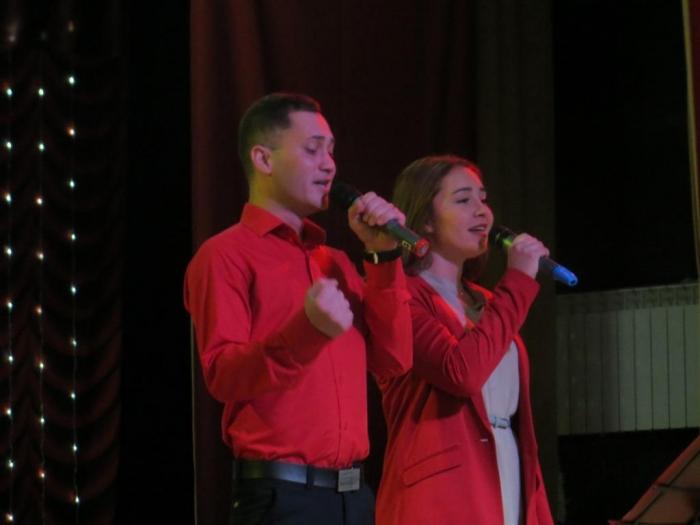 Революционный концерт в посёлке Тучково