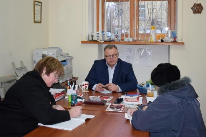 Александр Наумов провел прием граждан в г.о. Домодедово и г.о. Подольск