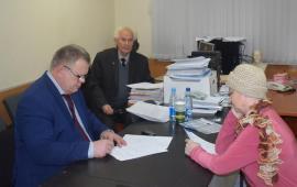 Депутат Александр Наумов провёл приём граждан в Ленинском районе и в г.о. Серпухов